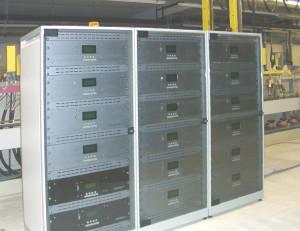 Pulse-Plating-Station für 8 Cu-Bäder und 2 Sn-Bäder